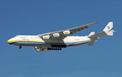 World's largest aircraft An-225 visiting Miami Stock Images