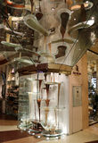 World`s Largest Chocolate Fountain. By Jean-Philippe Patisserie at Bellagio hotel in Las Vegas, NV, USA on March 30, 2017 stock photography