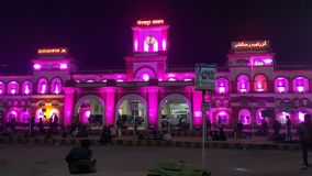 World& x27;s largest railway station. Gorakhpur city junction Stock Image