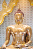 The world's largest solid gold Buddha statue at Wat Traimit, Bangkok Stock Photography