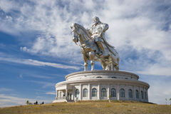 The world's largest statue of Genghis Khan Royalty Free Stock Photo