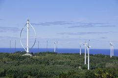 World's largest vertical axis wind turbine Stock Photo