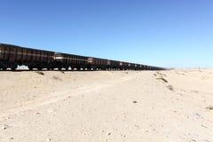 The world's longest train Stock Image