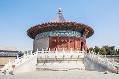 World's most famous ancient architecture of the temple of heaven in Beijing, China royalty free stock image