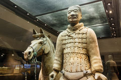 The world's most famous statue of the Terra Cotta Warriors,in Xi 'an, China Stock Images