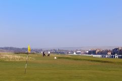 The Worlds Oldest Golf Course, Scotland 1567 Royalty Free Stock Photo