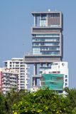 World's second most expensive property, also known as Antilia Stock Photography