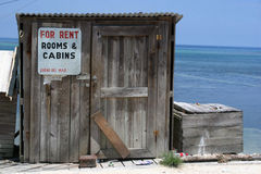 World's smallest Room for Rent?. Roatan, Honduras Royalty Free Stock Photography