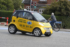 World's smallest taxi Royalty Free Stock Photography