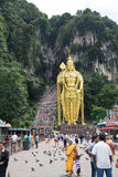 The world's tallest statue of Murugan, a Hindu deity Royalty Free Stock Photography