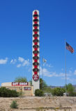 World's Tallest Thermometer Royalty Free Stock Image