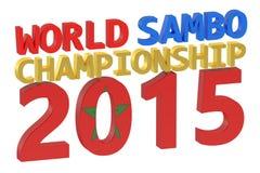 World Sambo Championship 2015. Concept Stock Photography