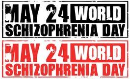 World schizophrenia day Royalty Free Stock Photography