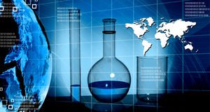 World and science Stock Photo