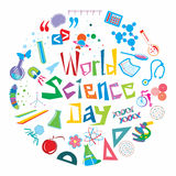 World Science Day Royalty Free Stock Image