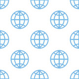 World seamless pattern Royalty Free Stock Photos