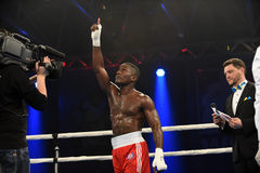 World series of boxing: Ukraine Otamans vs British Lionhearts Stock Images