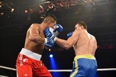 World series of boxing: Ukraine Otamans vs British Lionhearts Stock Photos