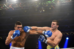 World series of boxing: Ukraine Otamans vs British Lionhearts Stock Images