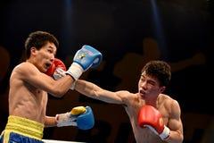 World series of boxing: Ukraine Otamans vs China Dragons Royalty Free Stock Photography