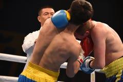 World series of boxing: Ukraine Otamans vs China Dragons Stock Images