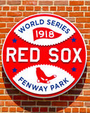 1918 World Series Championship Logo Royalty Free Stock Photos