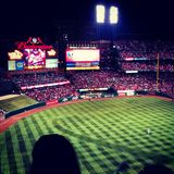 World Series, 2013. Game 3 of 2013 World Series at Busch Stadium Royalty Free Stock Photography