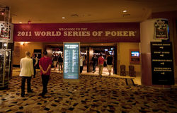 World Series of Poker (WSOP) 2011 at Rio Stock Images