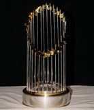 World Series Trophy. The 2004 World Series Trophy presented to the Boston Red Sox Stock Photo