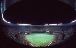 1980 world series, Veterans Stadium, Philadelphfia Imagens de Stock Royalty Free