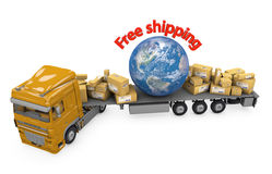 World shipment Royalty Free Stock Photo