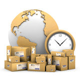 World shipments. Stock Photo