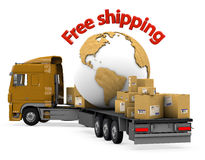 World shipments. Royalty Free Stock Photo