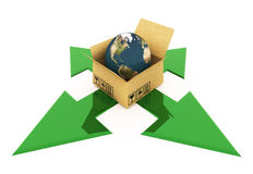 World shipments Royalty Free Stock Photo