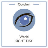 World Sight Day, October Royalty Free Stock Images