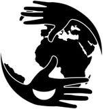 Charity_logo_ stock illustration