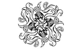 World of sins royalty free illustration