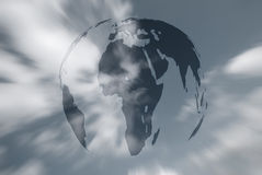 World in sky Royalty Free Stock Image