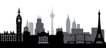 World skyline Stock Photo