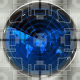 World Sniper Scope Royalty Free Stock Image