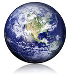 World soccer ball Stock Images