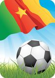 World soccer championship 2010 - Cameroon Stock Images