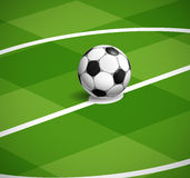 World soccer championship illustration Royalty Free Stock Photo