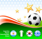World Soccer Event Group B. 