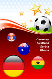 World Soccer Event Group D. 