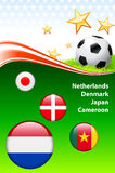 World Soccer Event Group E. 