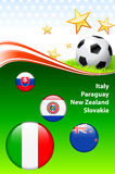 World Soccer Event Group F. 