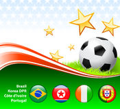 World Soccer Event Group G Stock Photography