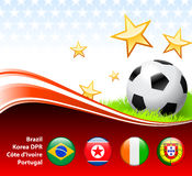 World Soccer Event Group G Royalty Free Stock Photo