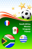 World Soccer Event Group A Stock Photography